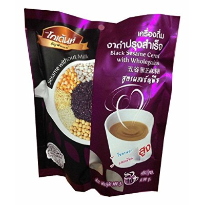 GoldentブラックSesame Cereal with Whole Grains 300g。( 30g.x10ラベンダーサシェ)
