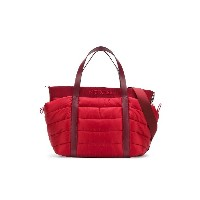 Moncler Kids quilted changing bag - レッド
