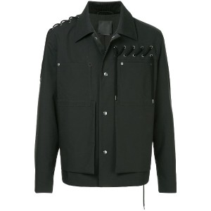 Craig Green lace-up detail jacket - ブラック