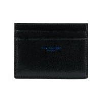 Saint Laurent logo cardholder - ブラック