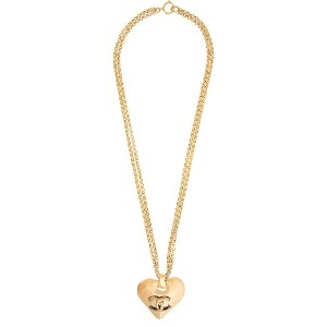 Chanel Vintage double long necklace - メタリック