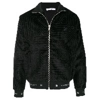 Givenchy embroidered pattern bomber jacket - ブラック