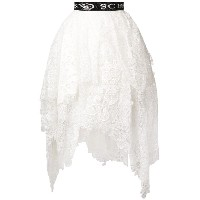Ermanno Scervino embroidered flared midi skirt - ホワイト