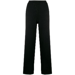 L'Autre Chose straight leg trousers - ブラック