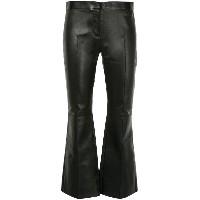 Alexander McQueen flared trousers - ブラック