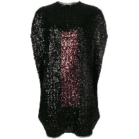 Gianluca Capannolo embellished sweater dress - ブラック