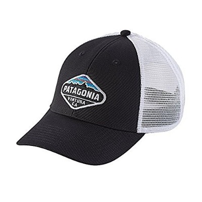 (パタゴニア)patagonia Fitz Roy Crest LoPro Trucker Hat 38055 Black (BLK) ALL