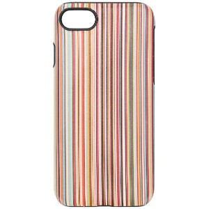 Paul Smith Black Label striped Iphone 7/8 case - イエロー