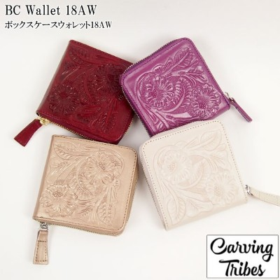GRACE CONTINENTAL グレースコンチネンタル BC Wallet 18AW ボックスケースウォレット18AW 全4色 48389515 Carving Tribes カービングトライブス...