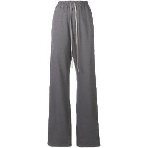 Rick Owens DRKSHDW flared track pants - グレー