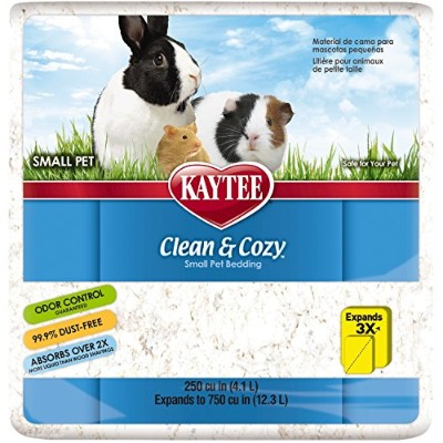 Kaytee Clean And Cozy Small Animal寝具 250 cu.in/4.1 Liter 100506836