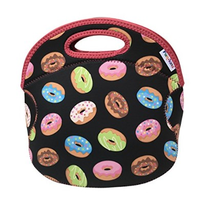 Funkins Insulated Lunch Tote Bag for Kids & Teens |耐久性、洗濯可能、ゆったりwith内部ポケット&名前タグ| Delightful Donuts ...