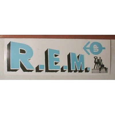 REM Pop OutポスターR。E。M。Really Cool