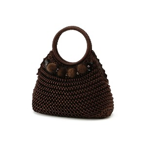 【SALE(三越)】 TO BE CHIC/TO BE CHIC  ニットBAG(W5108800__) ブラウン 【三越・伊勢丹/公式】 バッグ~~ハンドバッグ