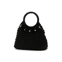【SALE(伊勢丹)】 TO BE CHIC/TO BE CHIC  ニットBAG(W5108800__) ブラック 【三越・伊勢丹/公式】 バッグ~~ハンドバッグ