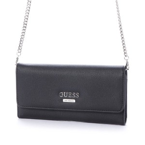 ゲス GUESS MCGILL MINI CLUTCH ORGANIZER (BLACK) レディース