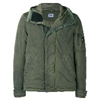CP Company zipped bomber jacket - グリーン
