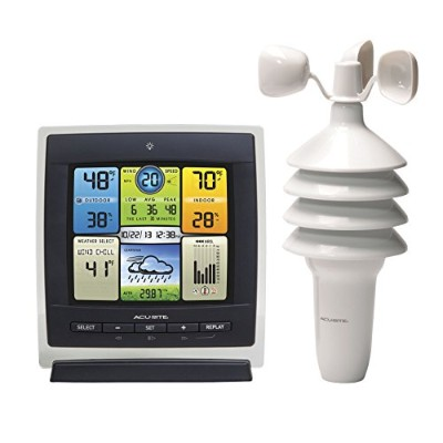 AcuRite 00589 Pro Color Weather Station with Wind Speed, Temperature and Humidity by AcuRite [並行輸入品]