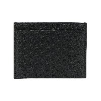 Stella McCartney embossed cardholder - ブラック
