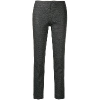 Kiltie fitted trousers - グレー