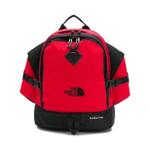The North Face multi-pocket backpack - レッド