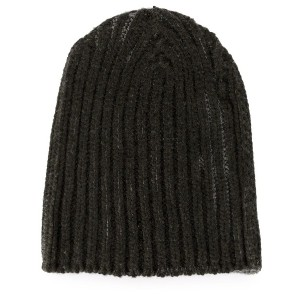 Warm-Me cable knit beanie - グリーン