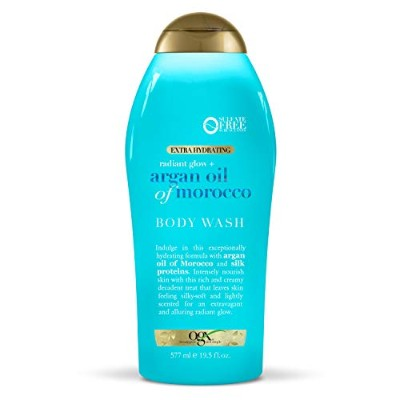 OGX Argan Oil of Morocco Extra Hydrating Body Wash, 19.5 Ounce [並行輸入品]