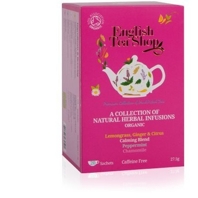 English Tea Shop - Natural Herbal Infusions Collection - 20 Sachet Envelope - 27.5g
