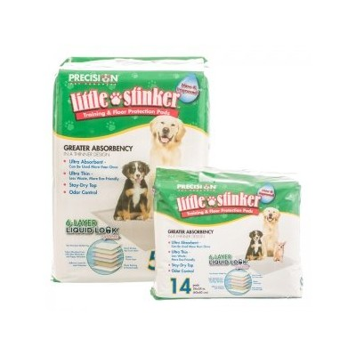 Little Stinker Housebreaking Pads by Precision Pet