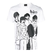 The Beatles X Comme Des Garçons The Beatles プリント Tシャツ - ホワイト