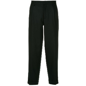 Kolor cropped trousers - ブラック