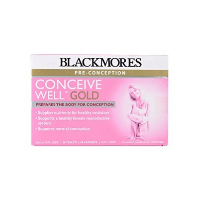 Blackmores Conceive Well Gold 56 Tabs by Blackmores LTD