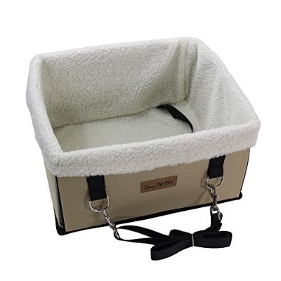 shellmimiペットBooster Car Seat for Dogs and Cats --- Just for Small犬と猫 Free ベージュ