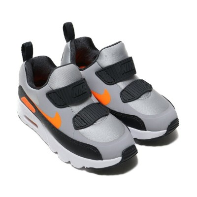 NIKE AIR MAX TINY 90 (PS)(ナイキ エア マックス タイニー 90 PS)WOLF GREY/TOTAL ORANGE-ANTHRACITE-WHITE【キッズ スニーカー...