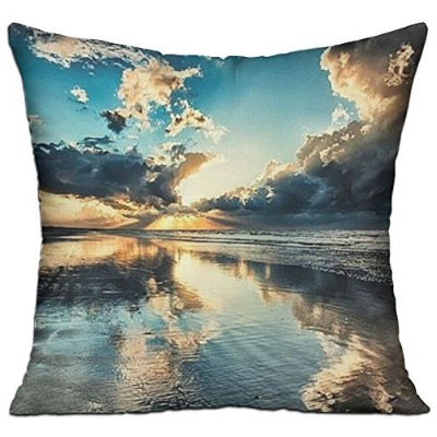 GRUNVGT Cushion Cover Pillow Cover Amazing Photography Ocean Decorative Customized Pillow Case Sofa...