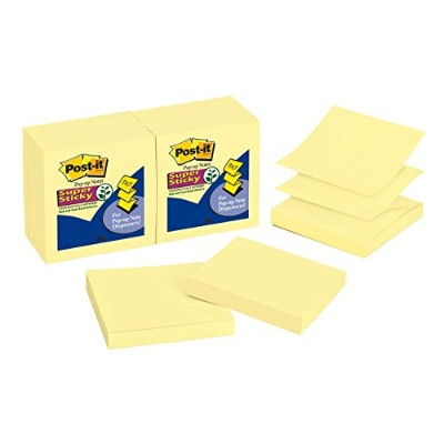POSTIT R330 SUPR STICKY Z-NOTES YLW