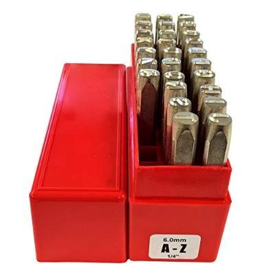 PRYOR PREMIUM PP27060 A-Z Punches, 27 Piece, 1/4 Character Size, 6.0 mm by PRYOR PREMIUM