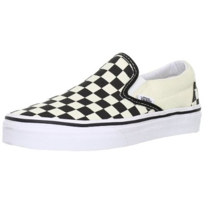[バンズ] スニーカー Basic ClassicSlip-On Black and White Checker/White US 6(24 cm)