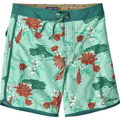 パタゴニア 海パン Scallop Hem Wavefarer 18in Board Shorts Cleanest Line/Bend Blue