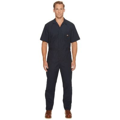 ディッキーズ オーバーオール Short Sleeve Coveralls Dark Navy