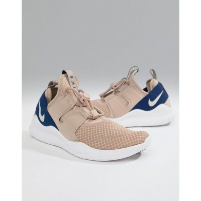 ナイキ メンズ スニーカー シューズ Nike Running Free Run commuter 2018 trainers in beige aa1620-200 Beige