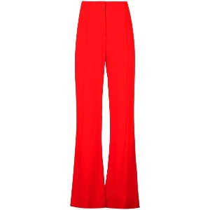 Dvf Diane Von Furstenberg tailored flared trousers - レッド
