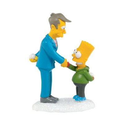 Department 56 The Simpson's Village from Mutually Assured Destruction Village Accessory Figurine, 3...
