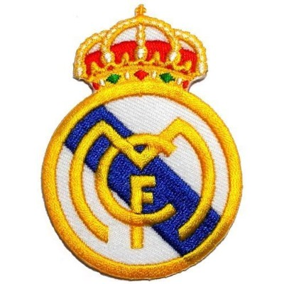 2.2 x 3.1Real Madrid C.F. Football Club FC DIY Embroidered Sew Iron on Patch by Poly patch