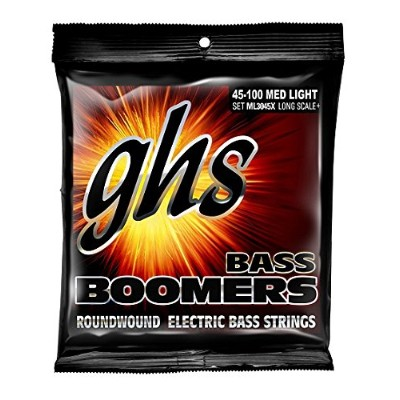 Ghs bass boomers bass guitar strings45-100 extra long scale
