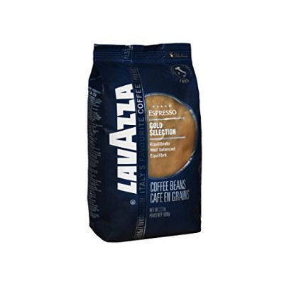 Lavazza Gold Selection - Whole Bean Coffee, 2.2-Pound Bag - Pack of 2 by Lavazza