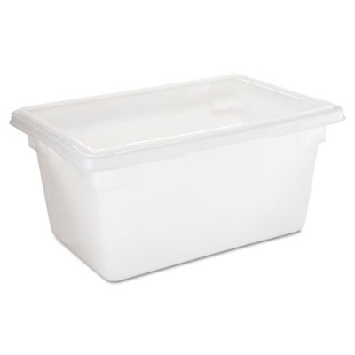 Rubbermaid Commercial Food /トートバッグボックス、5 Gal、18 W x 12d X 9h、ホワイト – Includes 1つ各。