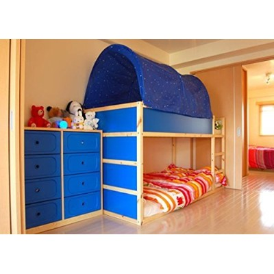 (Blue) - KAO Mart Bed Canopy Tent (Blue)
