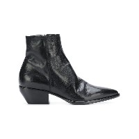 Elena Iachi pointed to ankle boots - ブラック