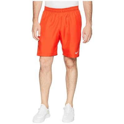 ナイキ Nike メンズ テニス ボトムス・パンツ【Court Dry 9' Tennis Short】Habanero Red/White/White